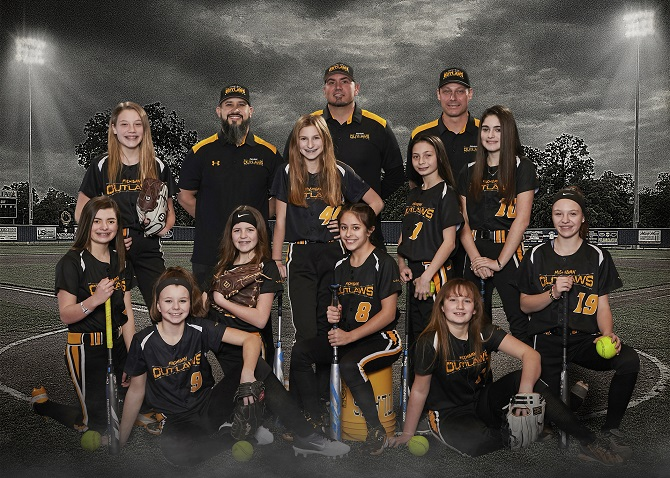 Outlaws 12U Wing 1224