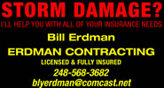 storm damage bill erdman